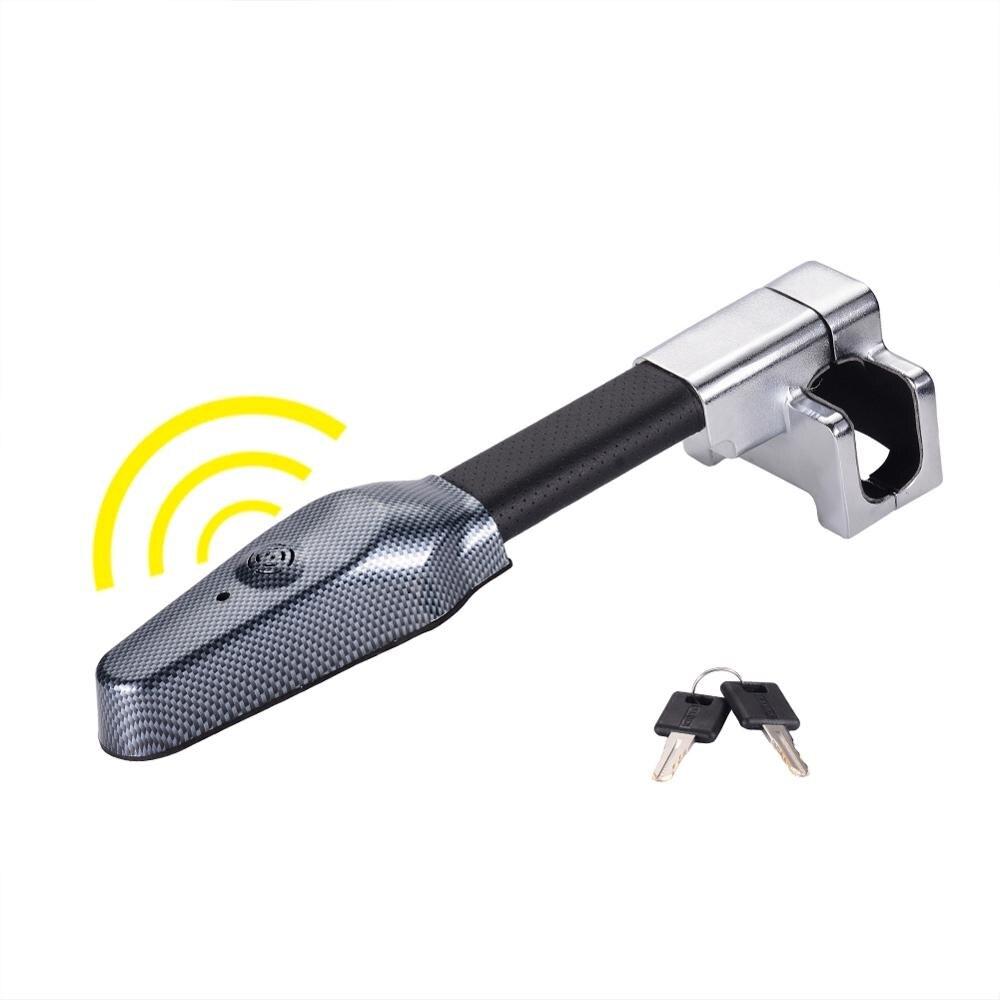 عجلة توجيه سيارة قفل مكافحة سرقة إنذار سلامة قفل قابل للسحب الأمن أقفال السيارات اكسسوارات السيارات