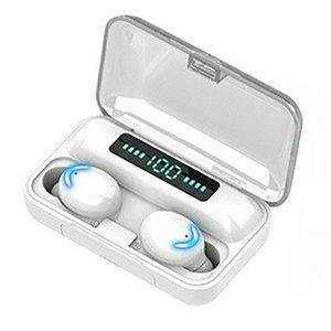 F9-5d Mini Bluetooth 5.0 Headset 2200MAH Capacity TWS Earphones LED Twins Earbuds Waterproof 5D Stereo Headphones