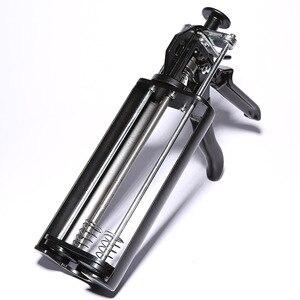 Красивый двухстворчатый металлический Железный пистолет, шовный инструмент для красоты, настоящий фарфоровый клеевой пистолет, трудосбер...