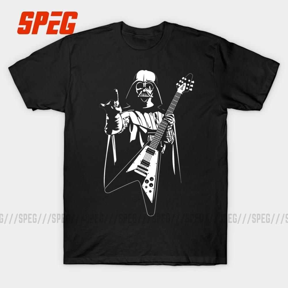 Мужская футболка с короткими рукавами SPEG Star Wars Guitar, хлопковая футболка с короткими рукавами и круглым вырезом, одежда для мужчин