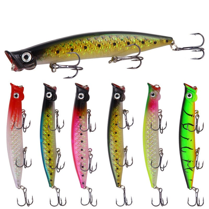 1piece minnow fishing lure 11cm 13g 15g 35g crankbaits fishing lures for fishing floating wobblers pike baits shads tackle 1pcs fishing lures Floating Wobblers 13g 11cm topwater pencil lure fishing Goood action hard baits Fishing Accessories