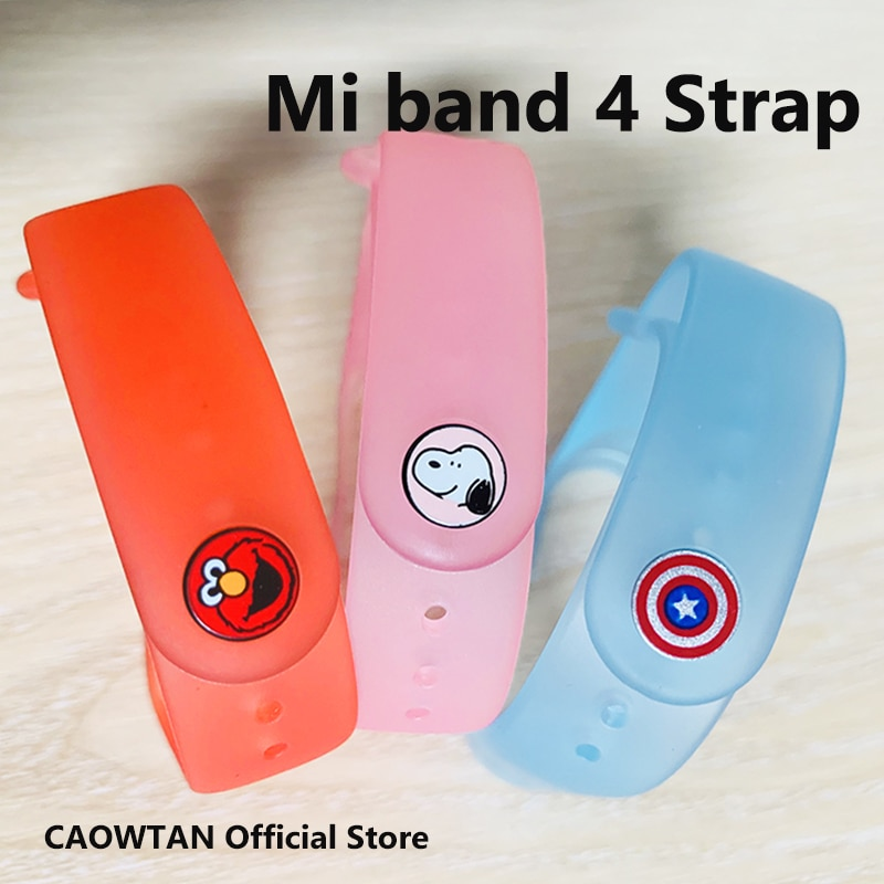 Loop Bracelet for Xiaomi Mi Band 3 4 Sport Strap Transparen Silicone wrist strap xiaomi mi band 3 4 bracelet Miband 4 3 Strap