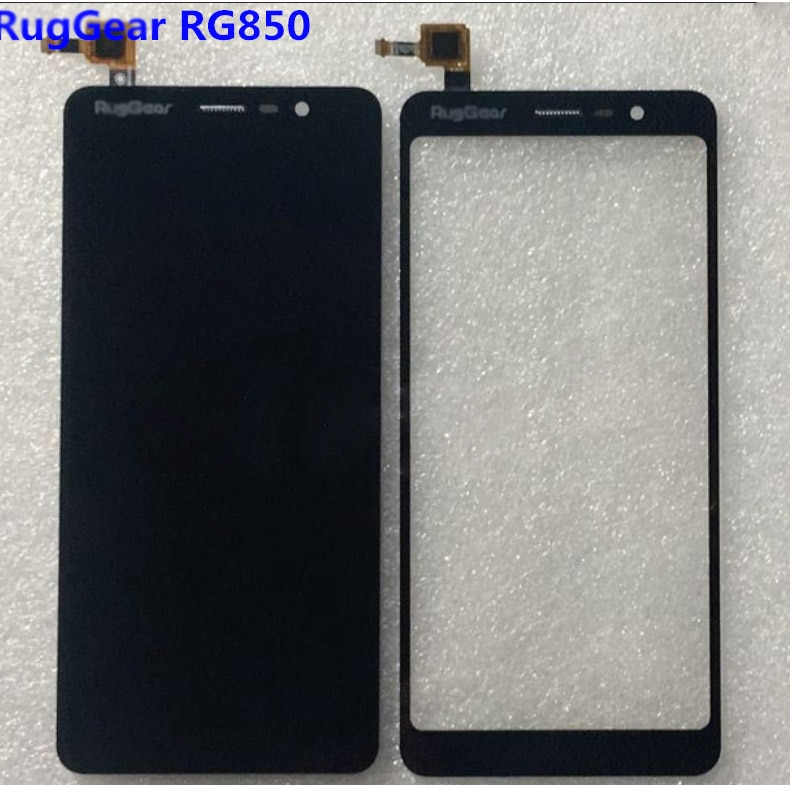 Montaje completo de digitalizador de repuesto de cristal para Panel de pantalla táctil con Sensor de pantalla Lcd RG850