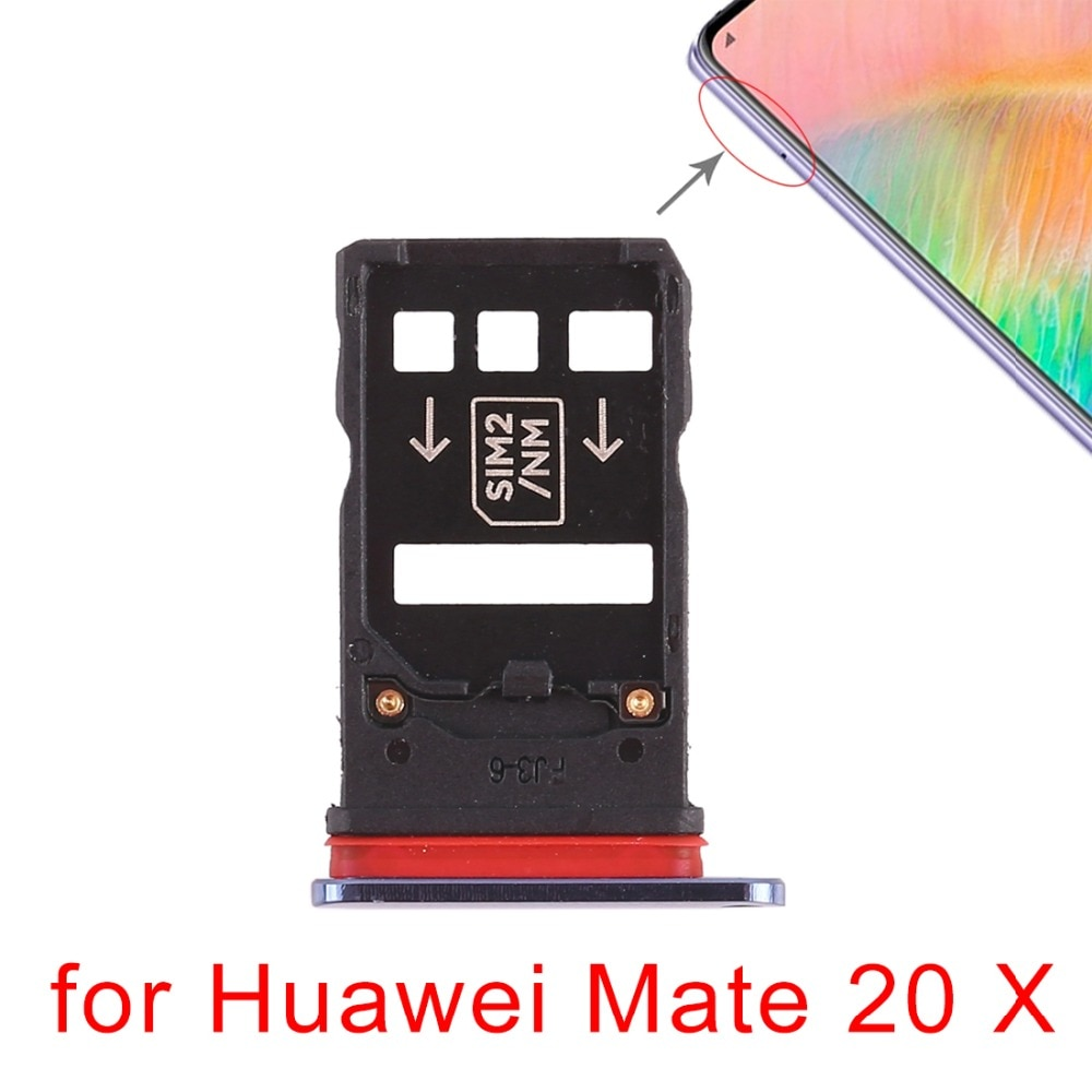 5pcs/lot New SIM Card Tray for Huawei Mate 20 Pro  20 X enlarge