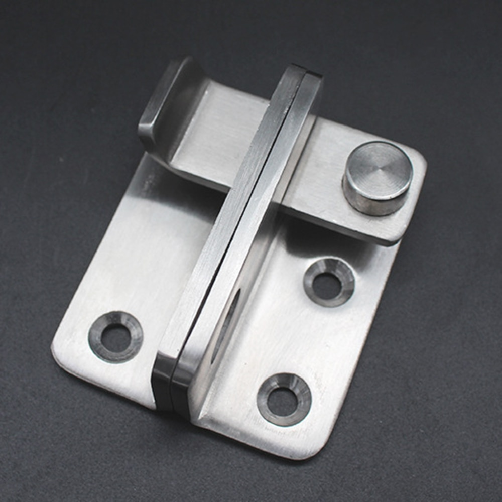 3 inch 4 inch stainless steel furniture bolts home gate safety hardware 3 4 automatic door barrel bolts lock Free Punching Wardrobe Door Bolt Latch Drawer Lock Safety Stainless Steel Doors Bolt For Wardrobe Hardware Furniture Fittings