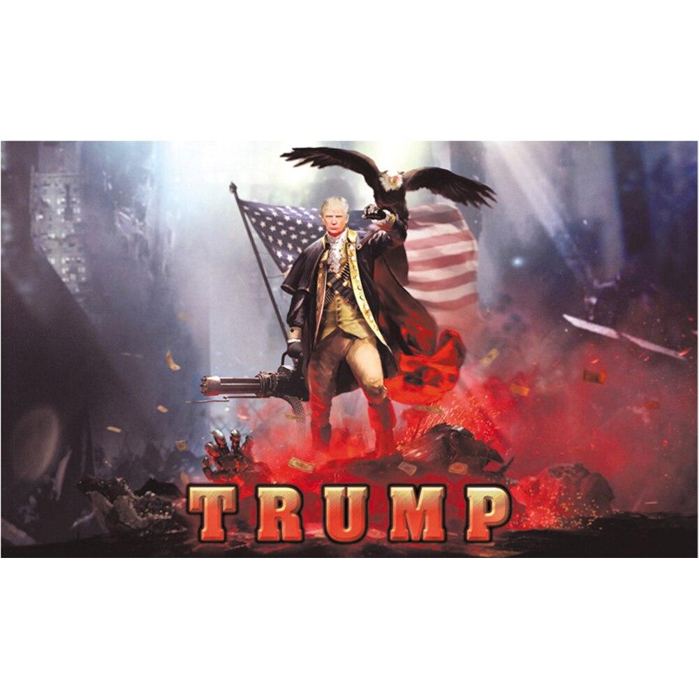 3x5 pés de parede 2020 presidente eleição desvanece-se resistente retângulo poliéster decoração para casa trump bandeira festa suprimentos impressão digital