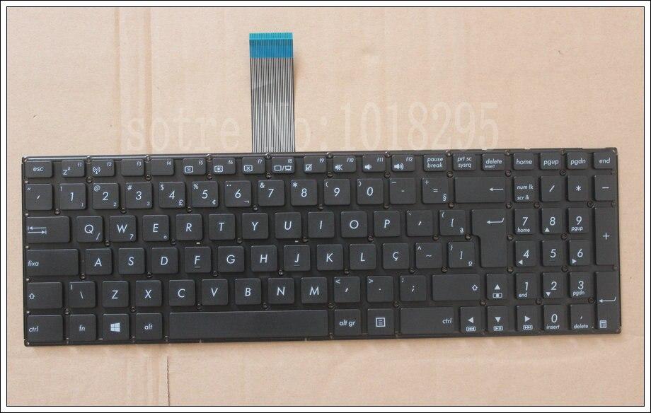 لوحة مفاتيح الكمبيوتر المحمول BR جديدة لـ ASUS K550 K550C K550CA K550CC K550LB ، لوحة مفاتيح Teclado البرازيلية
