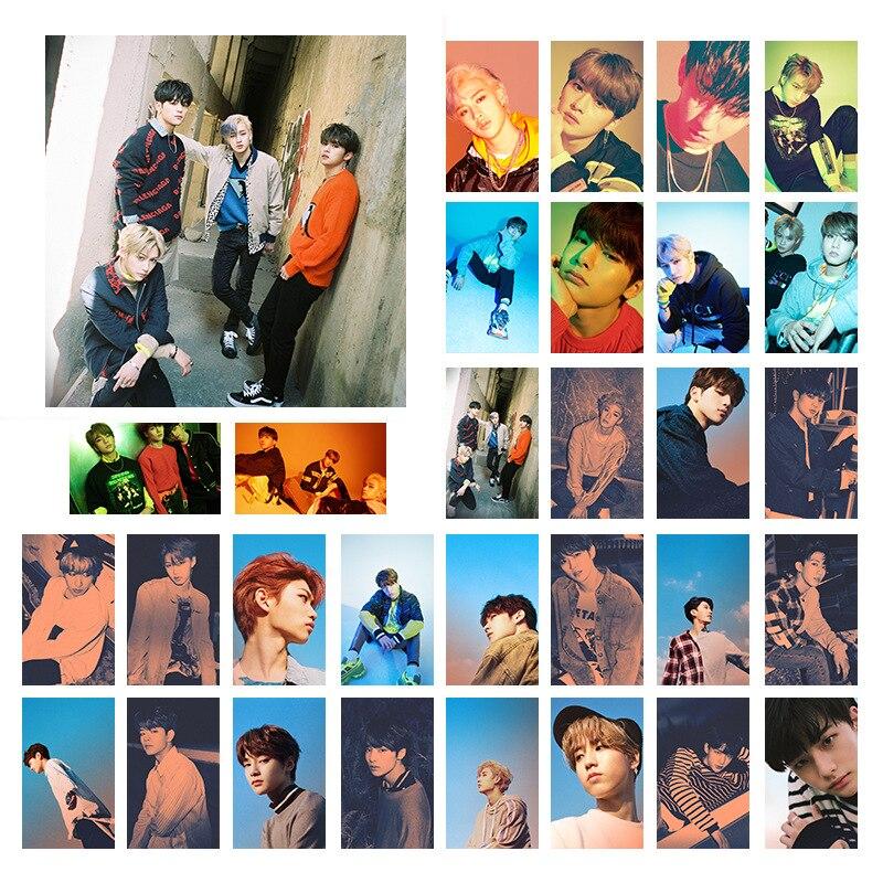 88*56MM 30 PCS/SET Stray Kids New Album MIROH LOMO Card Postcard Felix Bangchan Jeongin Seungmin Fans Collection Photo Book