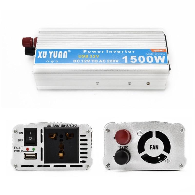 1500W Auto und Home Power Inverter DC 12V/24V zu AC 110V/220V power Converter W91F