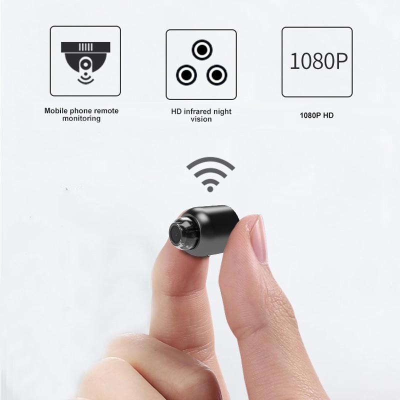 Mini Camera Wireless wifi 1080P Surveillance Security Night Vision Motion Detect Camcorder Baby Moni