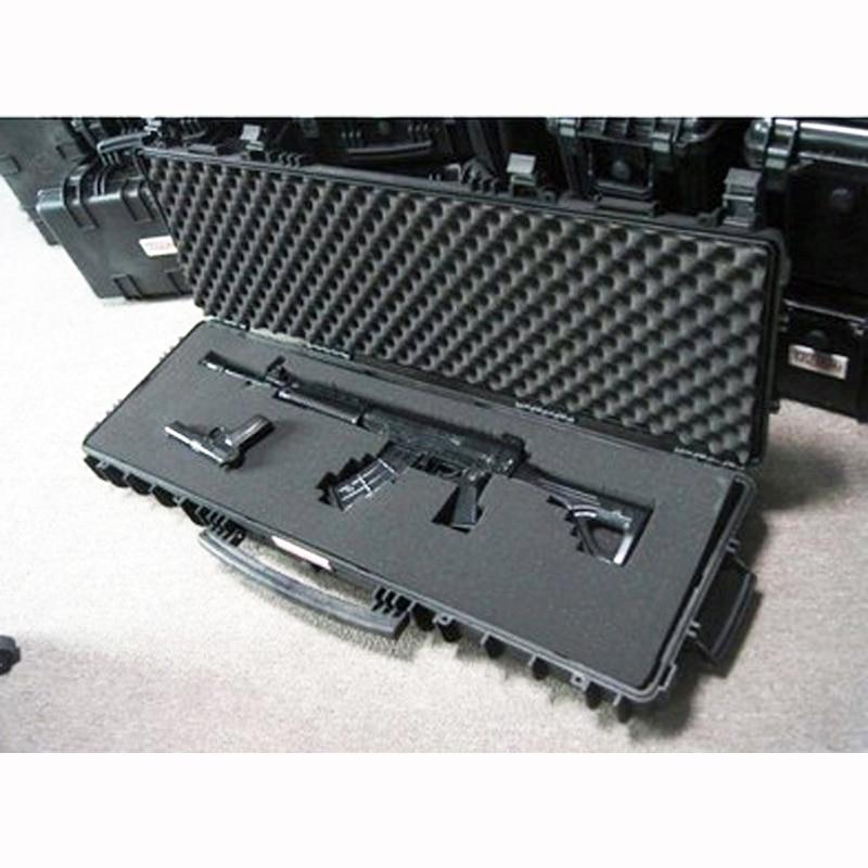 قضية طويلة بندقية صندوق أدوات كبيرة تأثير مقاومة مختومة مقاوم للماء معدات 88 قناص حقيبة بندقية مع رغوة شحن مجاني