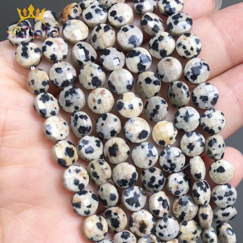 Граненые бусины с желтым камнем, 6 мм, круглые плоские бусины с отверстиями для самостоятельного изготовления ювелирных изделий, браслетов, ...
