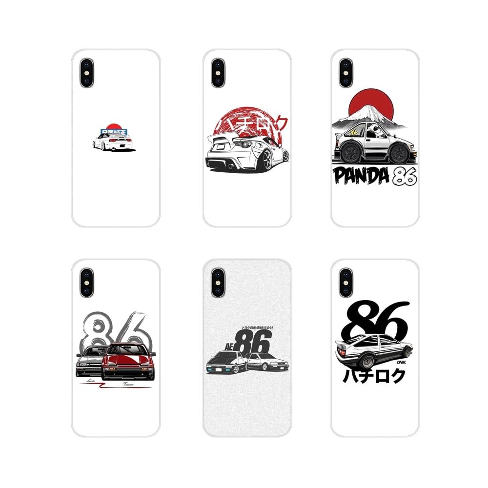 HKS Japón AE86 accesorios de coche fundas de teléfono para Huawei Nova 2 3 2i 3i Y6 Y7 Y9 Prime Pro GR3 GR5 2017, 2018 de 2019 Y5II Y6II
