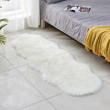 Sheepskin Faux Fur Carpets Rugs For Living Room Bedroom Kids Chair Artificial Wool Warm Hairy Carpets Skin Fur Area Rugs