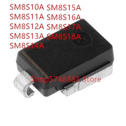 5 unids/lote SM8S10A SM8S11A SM8S12A SM8S13A SM8S14A SM8S15A SM8S16A SM8S17A SM8S18A de alta potencia tubo-218