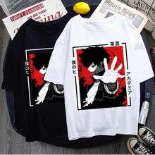 Hot Japanese Anime My Hero Academia T Shirt Men Boku No Hero Academia Tshirt Kawaii Dabi T-shirt Graphic Tops Tees Male Unisex
