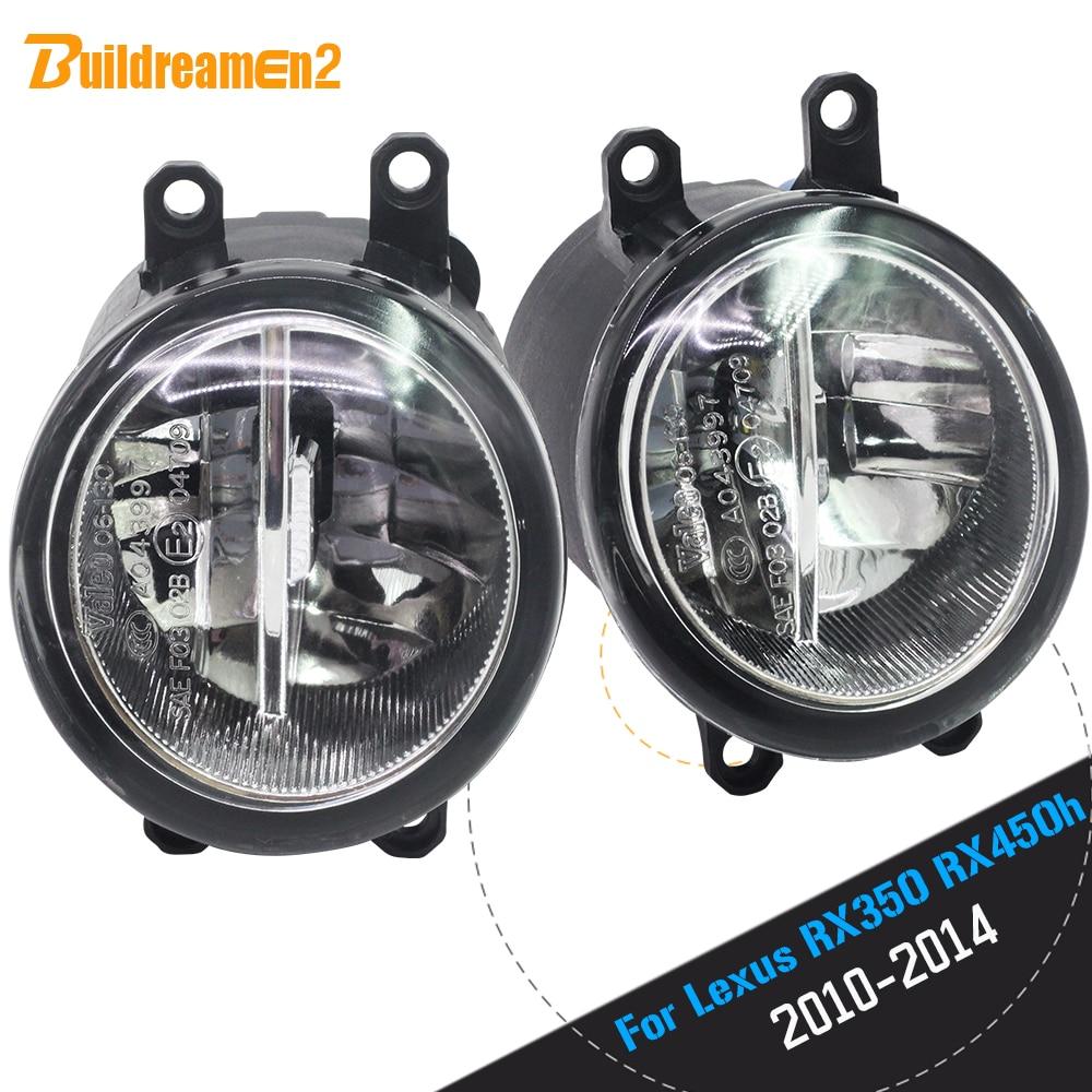 Buildreamen2 para Lexus RX350 RX450h 2010 2011 2012 2013 coche 4000LM H11 bombilla LED niebla DRL lámpara de circulación diurna 12V 2 piezas