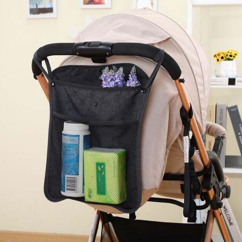 Baby stroller bag baby stroller hanging bag net bag net bag baby umbrella bag storage bag storage bag universal