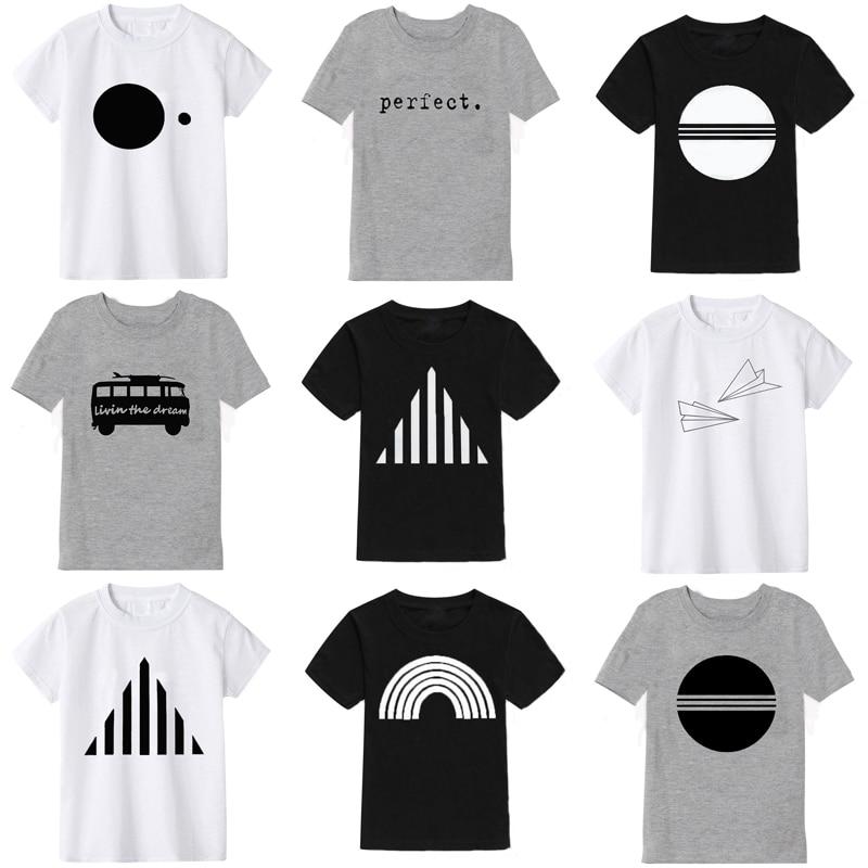 3 color Summer Short sleeve Kids T Shirt For Boy 2020 New Cartoon Casual T-Shirts For Girls Tops Boys T Shirt Children Clothes