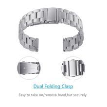 Roestvrij Stalen Band Voor Haylou Solar LS05 Smart Vervangbare Bandjes Wrist Correa Solar Band Armband Haylou Horloge Voor Xiao I5N0