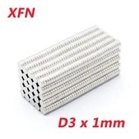 2050100 pcs hot sale d3x1mm magnet n35 3x1mm super strong 3x1 magnet 3mmx1mm 31 small refrigerator magnets d31mm 31mm