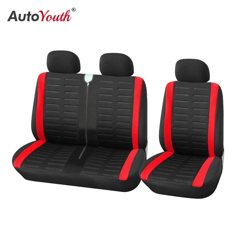 AUTOYOUTH-أغطية مقاعد السيارة ، وأغطية مقاعد السيارة ، والبوليستر المسامي ، ومناسبة لمعظم الشاحنات والشاحنات وسيارات الدفع الرباعي 2 1
