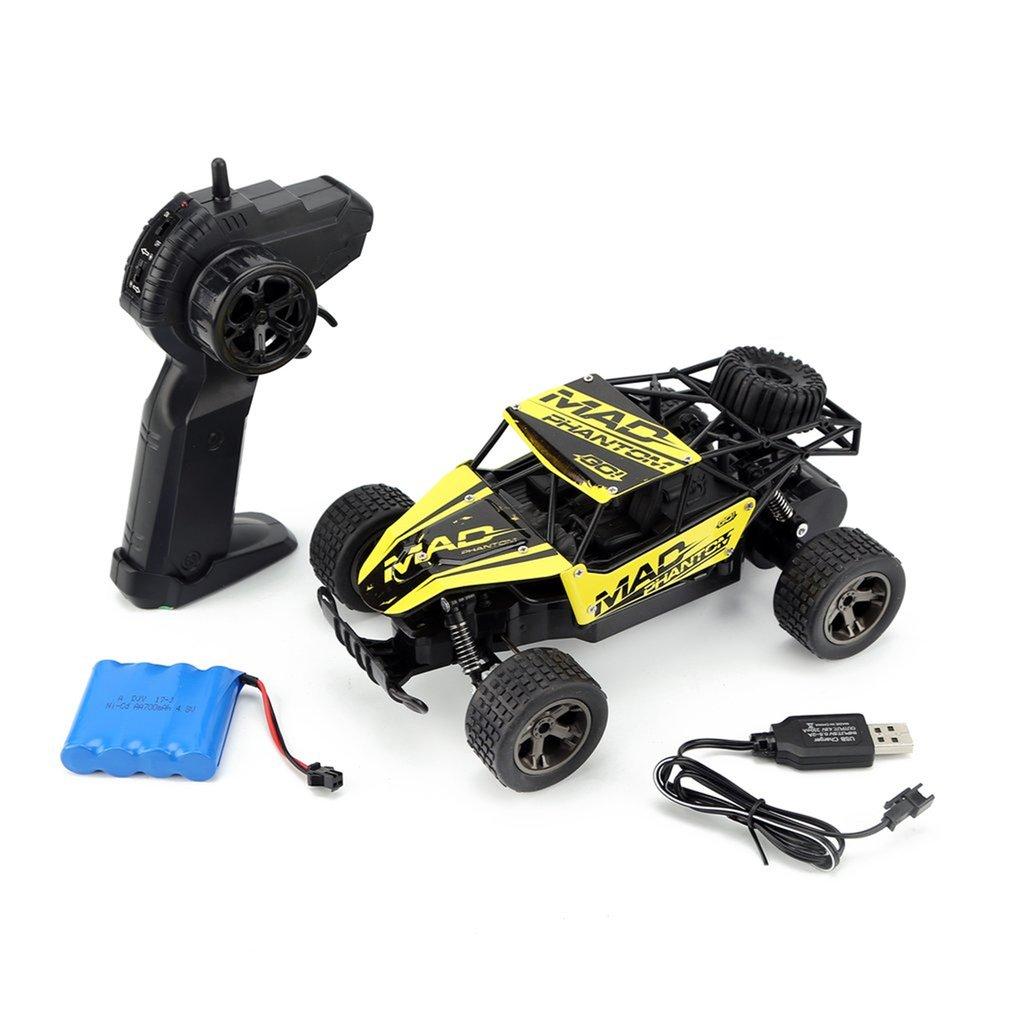 1/18 RC Car 4WD climbing Car Double Motors Drive Bigfoot Car Remote Control Model Off-Road Vehicle Toys Gift