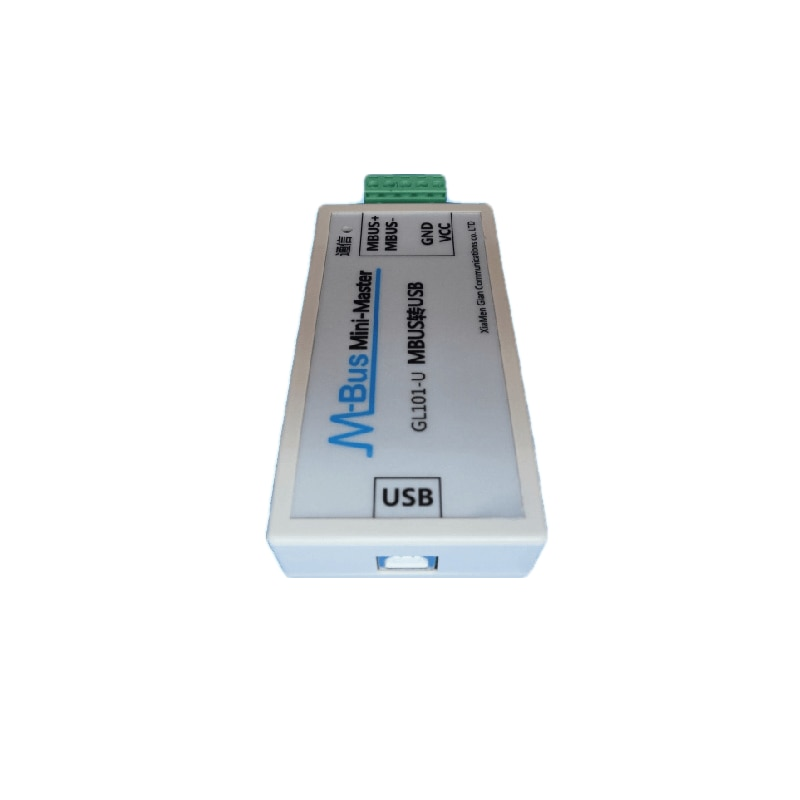 MBUS/M-BUS to USB Converter USB-MBUS Meter Reading Communication USB Power-supply Can Receive 200 Wa