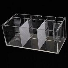 Caixa de filtro de incubadora de peixes de aquário para incubadora de peixes de bebê