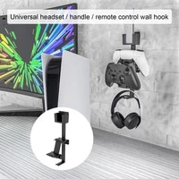 headphone holder wall mount stand universal practical abs headset hanger holder for xbox ps4 ps5 switch games accessories