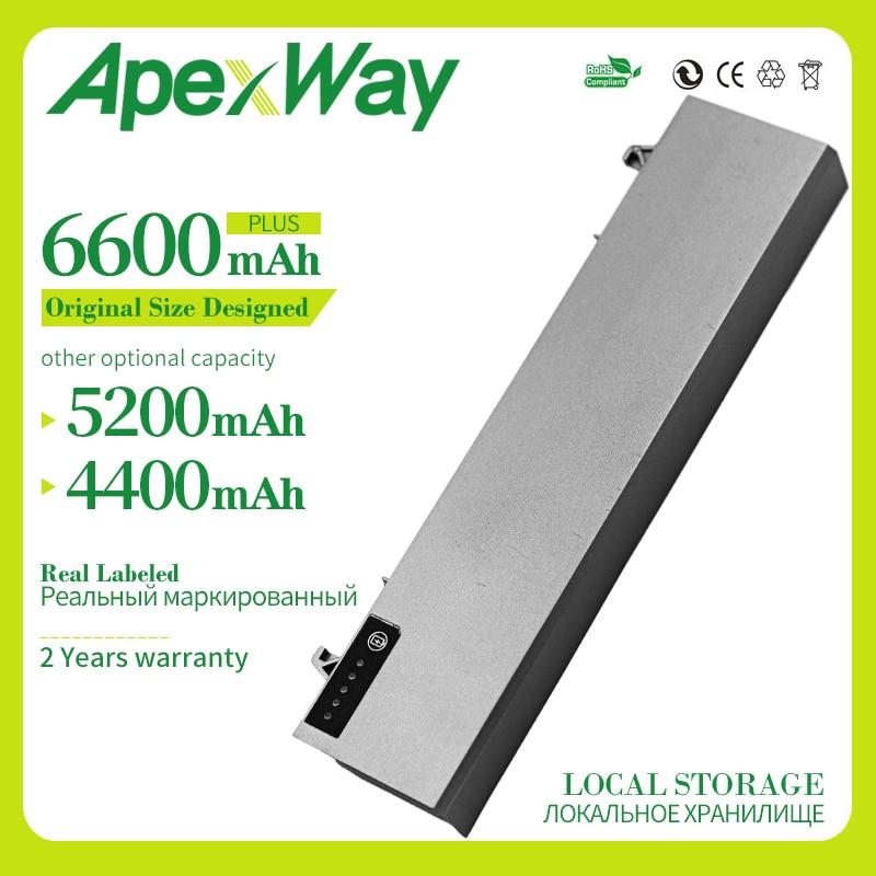 Apexway 6600 mAh 11.1v battery for Dell Latitude ATG E6400 XFR  E6410 E6500 E6510 E8400 M2400  M4500  W1193 GU715  H1391
