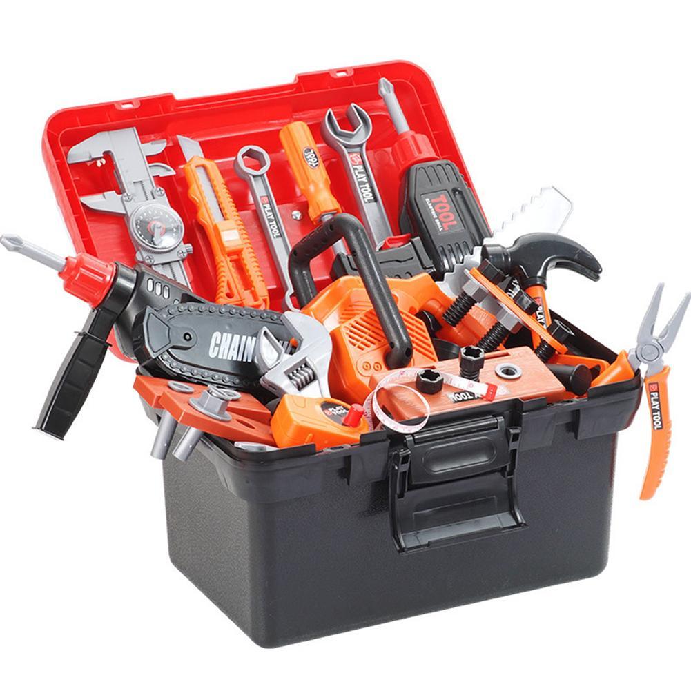 Набор инструментов детский с отверткой и ящиком для хранения, 43 шт.
