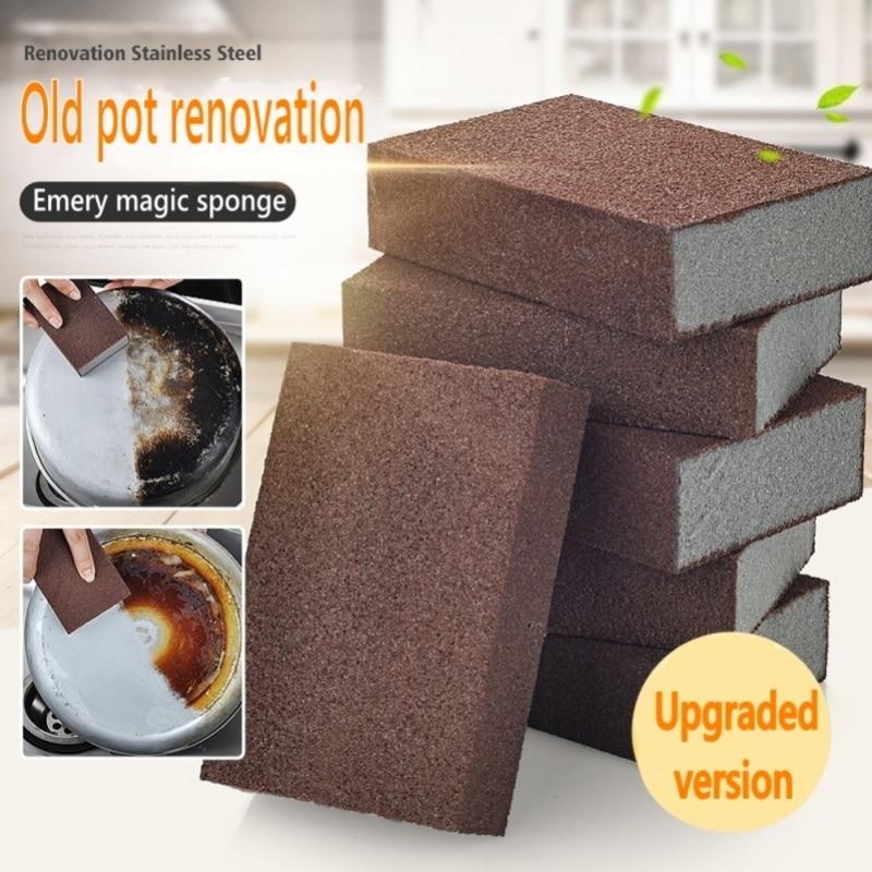 AliExpress - Magic Sponge Nano Eraser Rust Remover Brush Dish Pot Cleaning Emery Descaling Clean Rub Pots Kitchen Tools Gadgets Accessories