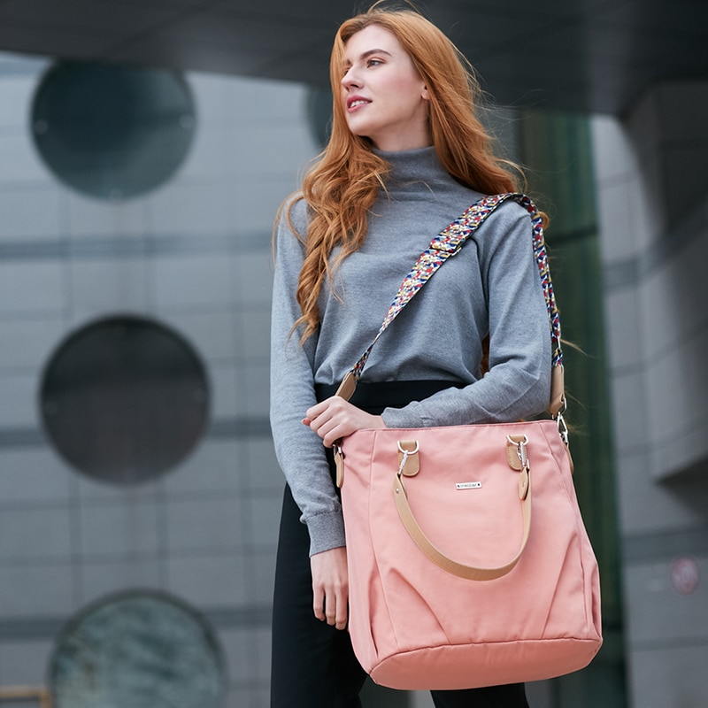 Mommy Diaper Bag Women's Shoulder Messenger Bag Mom Travel Stroller Bag Baby Storage Bag Care