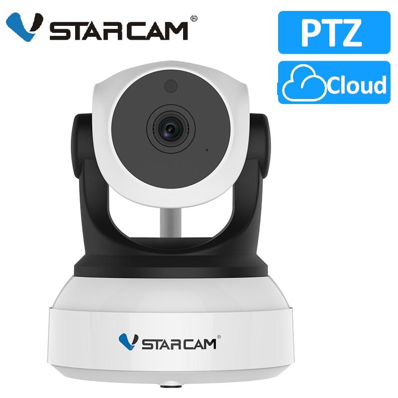 VStarcam-كاميرا مراقبة داخلية IP Wifi hd C7824WIP ، جهاز أمان لاسلكي ، مع رؤية ليلية ، تسجيل صوتي ، شبكة مراقبة الطفل