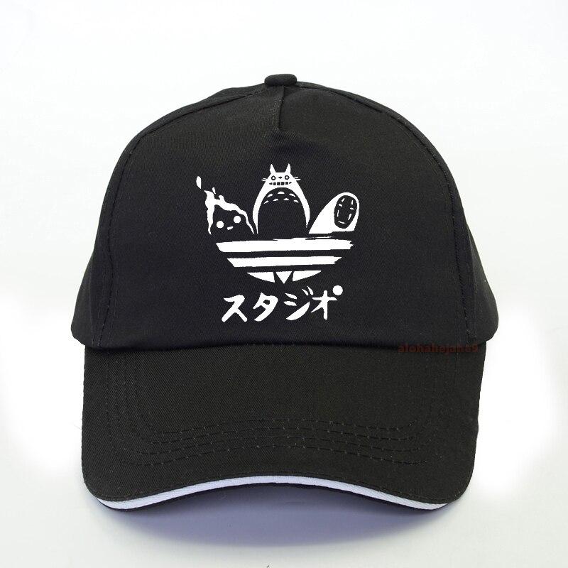 Бейсболка Totoro Spirited Away Мужская, модная кепка-тракер без лица, с рисунком аниме, летняя брендовая Бейсболка унисекс