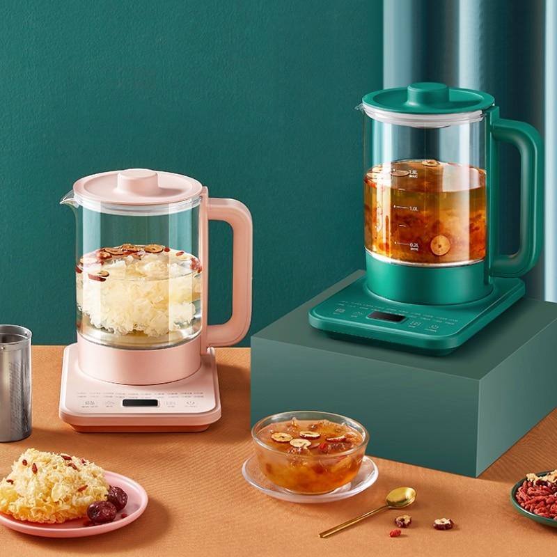 Home Use Electric Kettle Kitchen Appliance Water Heater Boiling Kettle Flower Tea Porridge Cooker Fo