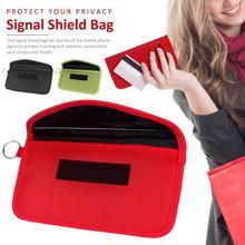 2021 1pcs Signal Blocking Bag Car Fob Signal Blocker Faraday Bag Signal Blocking Bag Shielding Pouch