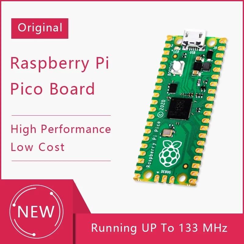 Placa de desarrollo Raspberry Pi Pico, microcontrolador de alto rendimiento de bajo...