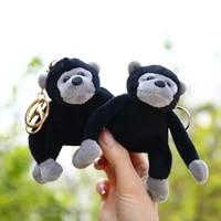 wangaiyao new long arm chimpanzee doll pendant plush bag pendant cute monkey toy little doll keychain holiday gifts
