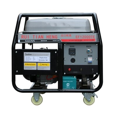 8.5KW مجموعة مولد البنزين 25KVA مكيف هواء وقوف السيارات الصامت