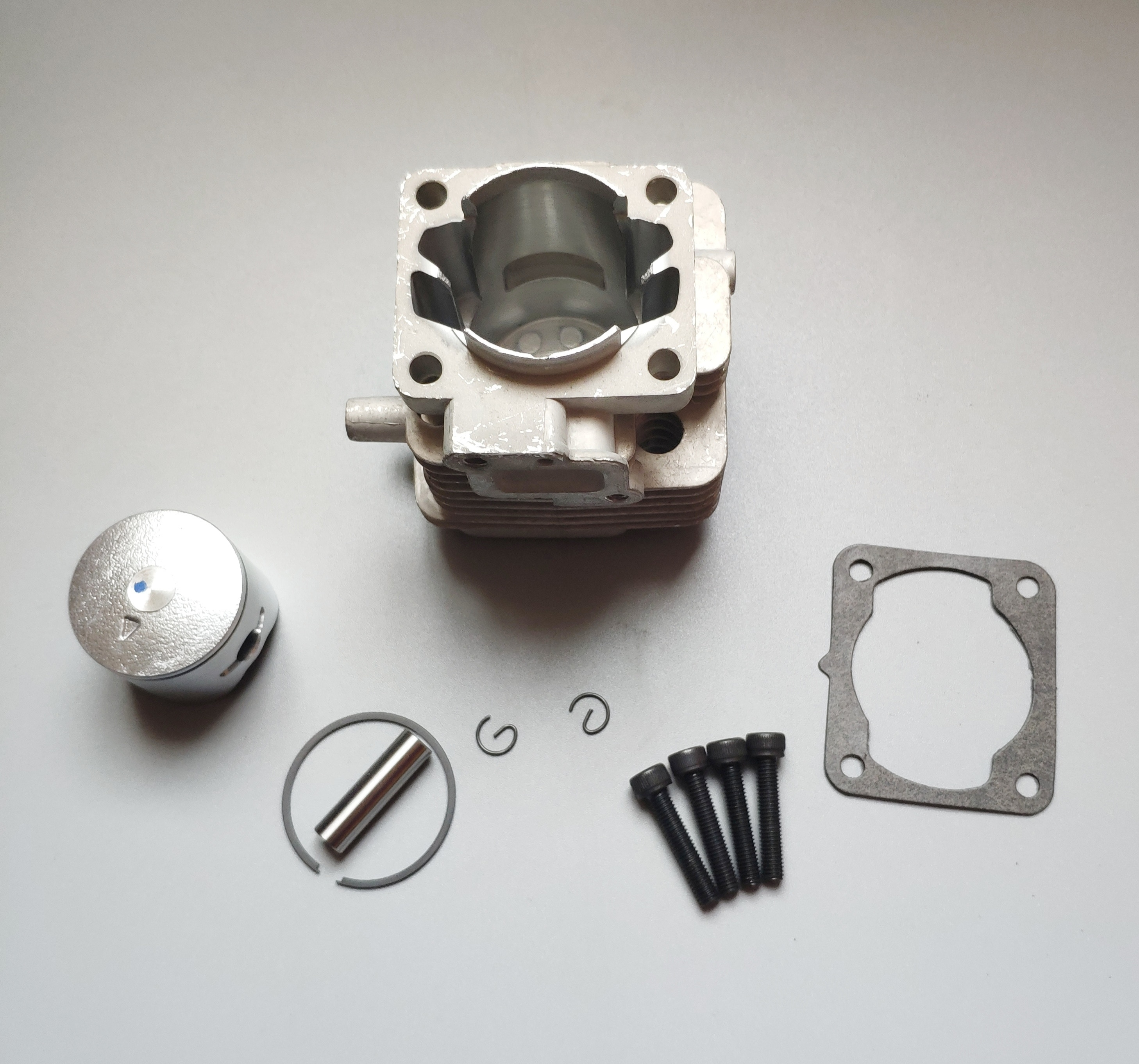 cylinder set replacement fit for Baja 5B 29CC four-point engine head piston crank shaft case kit enlarge
