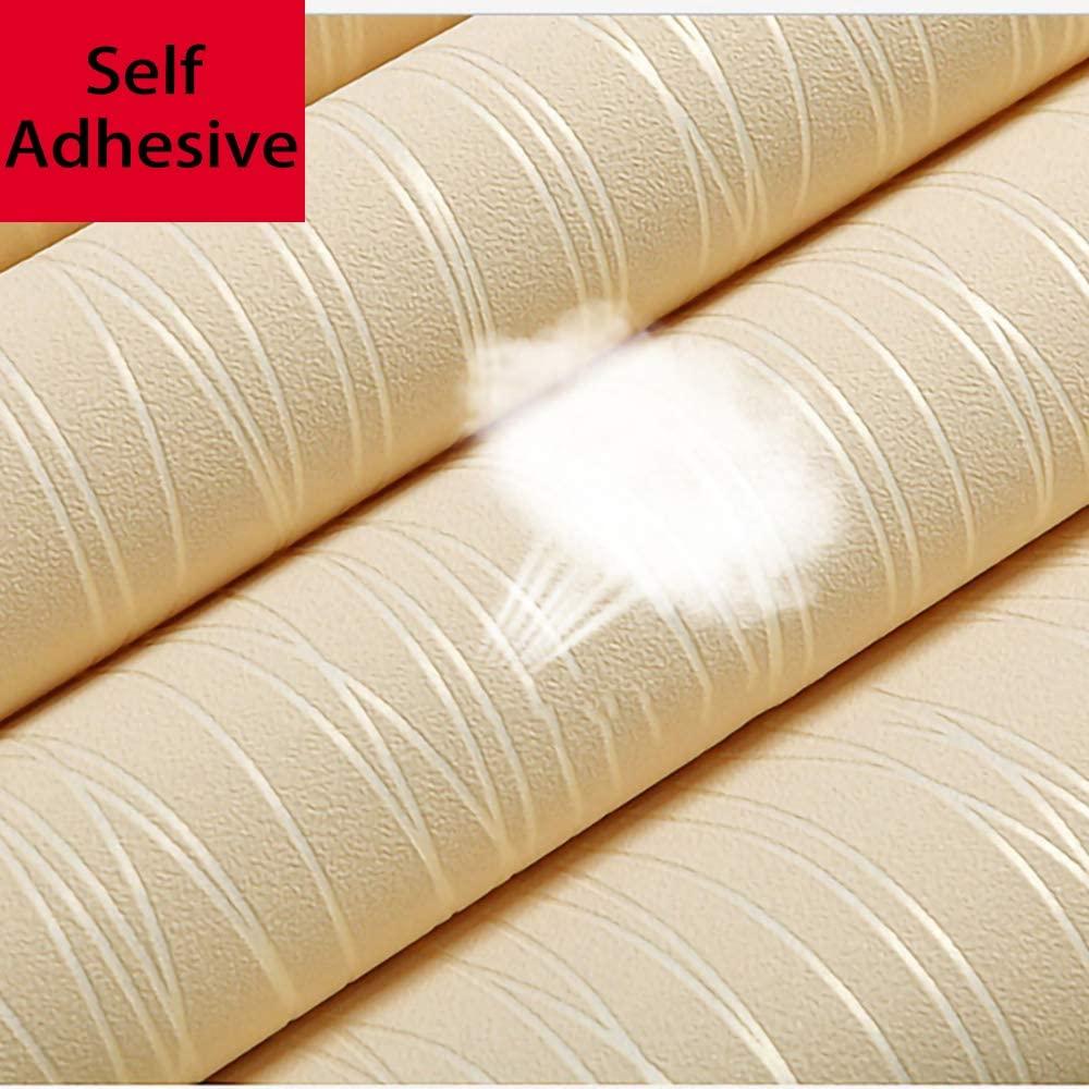 Толстая виниловая самоклеящаяся настенная бумага LUCKYYJ для стен, спальни, кухни