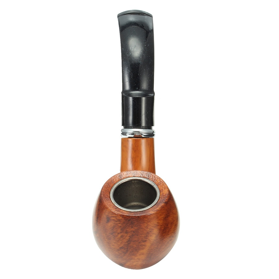 Pipa de madera clásica de resina para tabaco, duradera, pipeta para fumar, cigarro, Popular, estilo de moda, accesorios para cigarrillos limpios