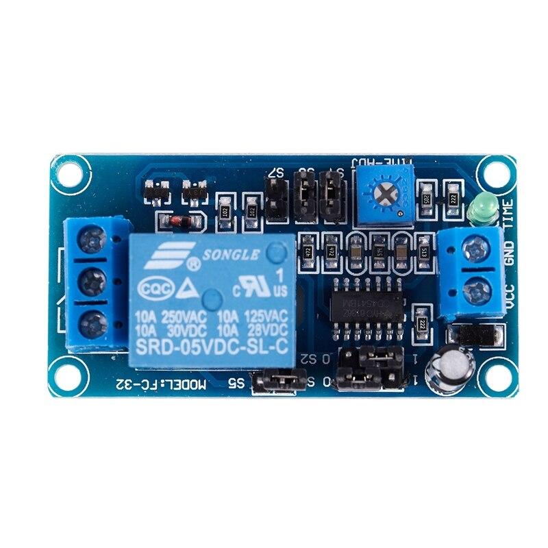 NUEVO-Módulo Tablero de Control DC5V FC-32 de retardo de tiempo de un solo canal