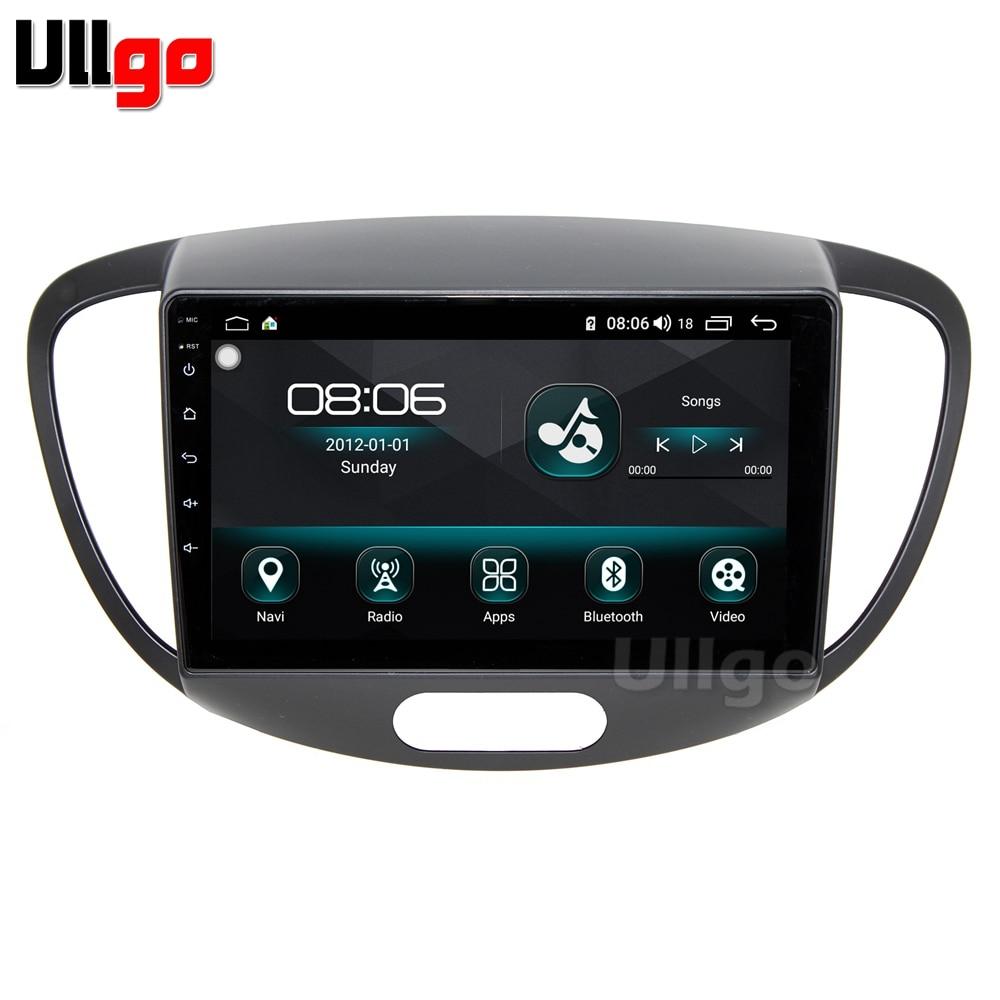 9'' Octa Core 4GB RAM+64GB ROM Android Car DVD GPS for Hyundai i10 2011-2013 Car Stereo Multimedia Navi Car Head unit 4G LTE