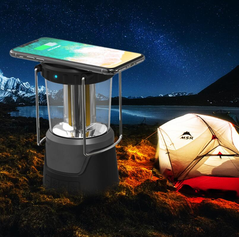 LED Lighting Outdoor Camping Light Audio Portable Outdoor Bluetooth Speaker Wireless Charging 5000mAh enlarge