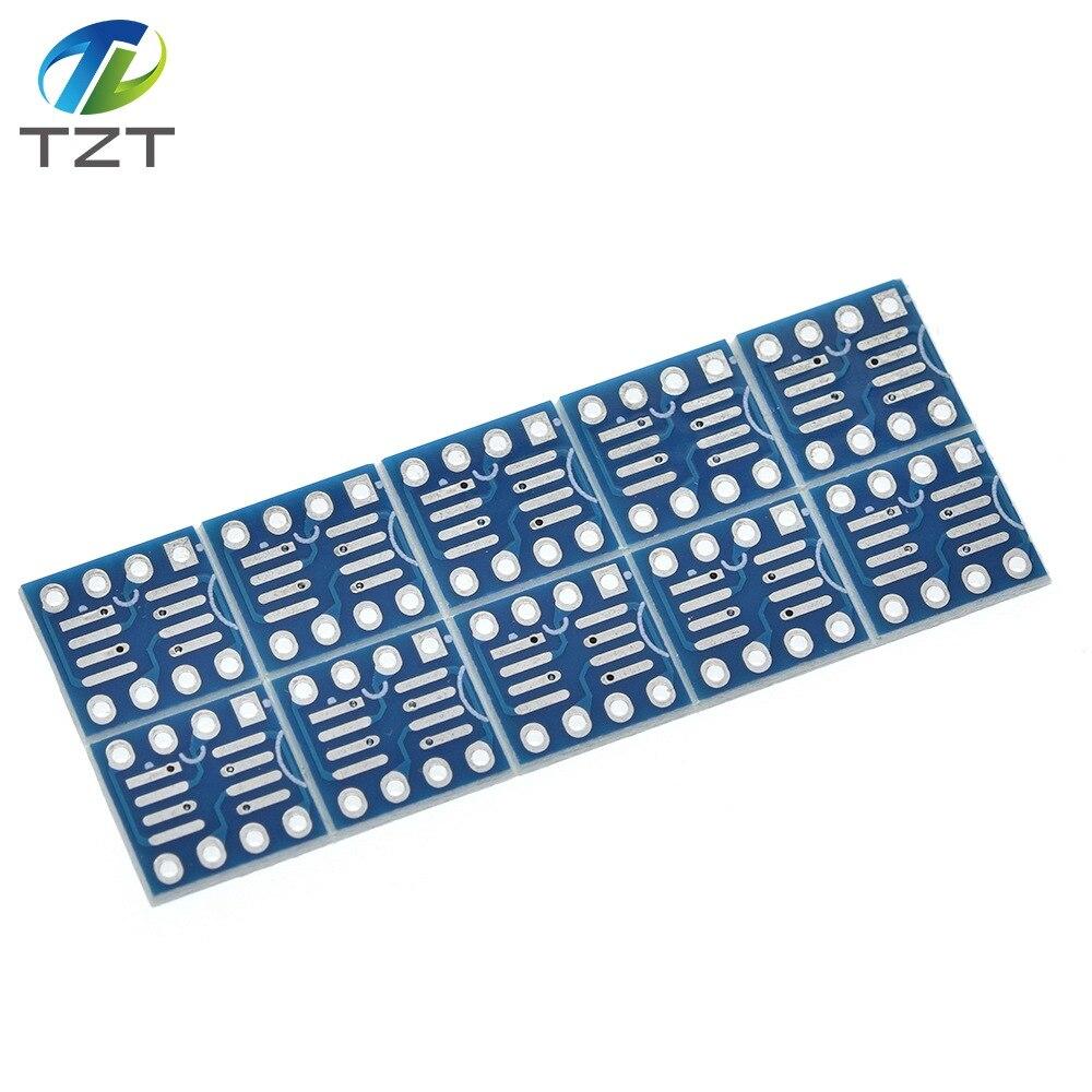 10 шт. SOP8 SO8 SO8 SOIC8 К DIP8 Interposer плата адаптер для печатной платы пластина новая