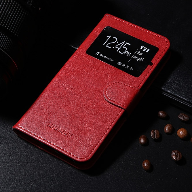 Funda de cuero para ZTE Blade Q lux 3G 4G Maxi Mini S6 Flex Lite Plus S7 V V10 Vita V2 Lite, funda protectora de teléfono