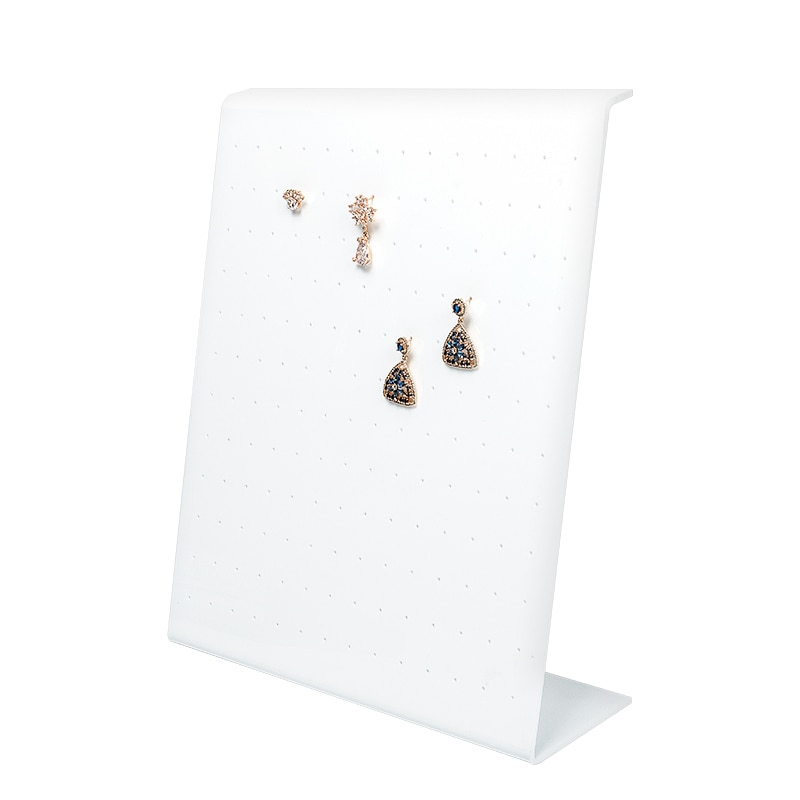 2020 hot sale new wholesale Jewerly Storage Portable white display Plastic cases
